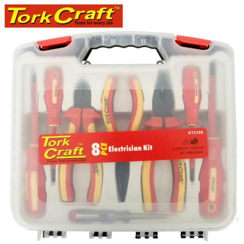 TORK CRAFT ELECTRICIAN KIT 8PCE