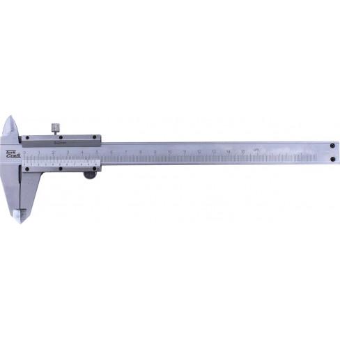 VERNIER 150MM CARBON STEEL METRIC 0.02 ACC